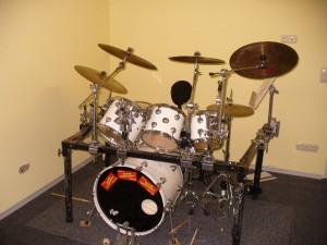 Mein schönes altes DW Schlagzeug